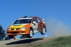 Hans Weijs and Hans Van Goor, Mitsubishi Lancer Evolution IX