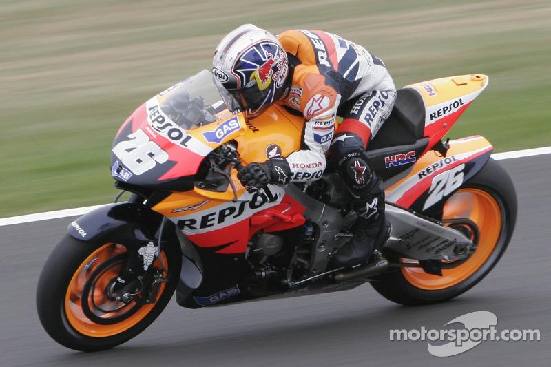 GP de Gran Bretaña 2007: Dani Pedrosa (8º)