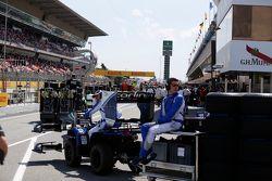 Les équipes du GP2 se préparent pour les qualifications