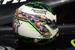 Indy 500 casco de Townsend Bell