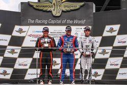 Podium: Winner Jack Harvey, Schmidt Peterson Motorsports, second place Sean Rayhall, 8 Star Motorspo