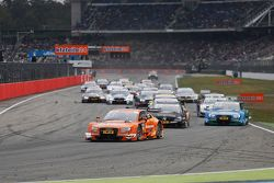 Старт субботней гонки DTM