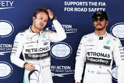 Nico Rosberg y Lewis Hamilton, Mercedes AMG