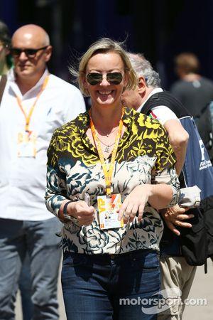 Sabine Kehm, gerente de Michael Schumacher