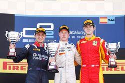 Stoffel Vandoorne, ART Grand Prix Mitch Evans, RUSSIAN TIME & Alexander Rossi, Racing Engineering