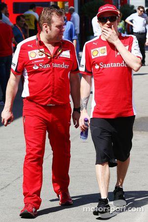 Kimi Raikkonen, Ferrari y el ingeniero de carrera de Dave Greenwood