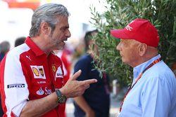 Sebastian Vettel, Ferrari con su padre Norbert