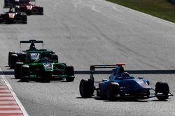 Ralph Boschung, Jenzer Motorsport, leidt Seb Morris, Status Grand Prix