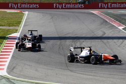 Artur Janosz, Trident leads Samin Gomez, Campos Racing
