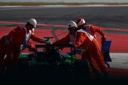 Car of Seb Morris, Status Grand Prix