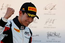 Podium: Esteban Ocon, ART Grand Prix