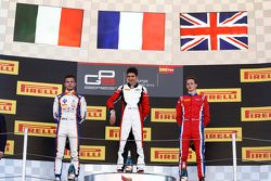 Esteban Ocon, ART Grand Prix, Luca Ghiotto, Trident & Emil Bernstorff, Arden International
