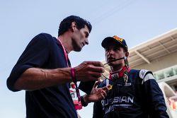 Mark Webber et Mitch Evans, RUSSIAN TIME