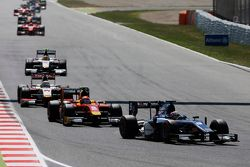 Mitch Evans, RUSSIAN TIME leads Alexander Rossi, Racing Engineering and Arthur Pic, Campos Racing