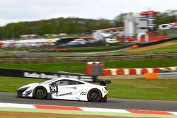 #54 Attempto Racing, McLaren 650S GT3: Philipp Wlazik, Fabien Thuner