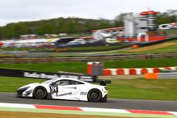 #54 Attempto Racing McLaren 650S GT3: Philipp Wlazik, Fabien Thuner