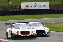#83 Bentley Team HTP, Bentley Continental GT3: Olivier Lombard, Jules Szymkowiak