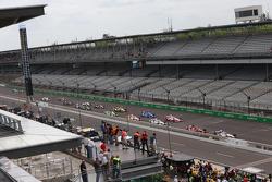 Arrancada: Will Power, Team Penske Chevrolet lider