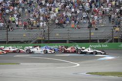 起步: Will Power, Penske雪佛兰车队,领先