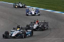 James Jakes et James Hinchcliffe, Schmidt Peterson Motorsports Honda