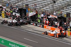 Will Power, Team Penske Chevrolet en Simon Pagenaud, Team Penske Chevrolet