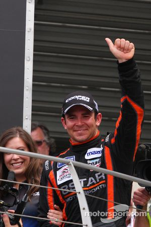 Le vainqueur Sean Rayhall, 8 Star Motorsports