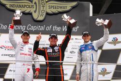 Podium: 1. Sean Rayhall, 8 Star Motorsports; 2. Max Chilton, Carlin. und 3. R.C. Enerson, Schmidt Pe