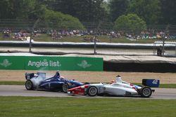 Ed Jones, Carlin et Jack Harvey, Schmidt Peterson Motorsports se crashent