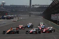 Sean Rayhall, 8 Star Motorsports, und Jack Harvey, Schmidt Peterson Motorsports