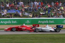 Felix Serralles, Belardi Auto Racing,和Jack Harvey, Schmidt Peterson Motorsports