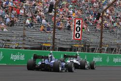 Ed Jones, Carlin, und Kyle Kaiser, Juncos Racing