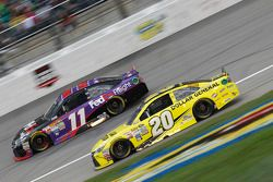 Denny Hamlin, Joe Gibbs Racing Toyota e Matt Kenseth, Joe Gibbs Racing Toyota