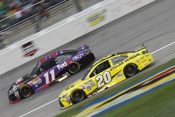 Denny Hamlin, Joe Gibbs Racing Toyota et Matt Kenseth, Joe Gibbs Racing Toyota