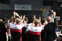 ART Grand Prix celebrate winning Race 3