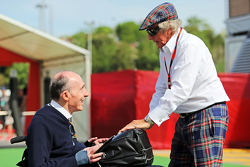 Sir Frank Williams, Williams Team Owner, dan Sir Jackie Stewart