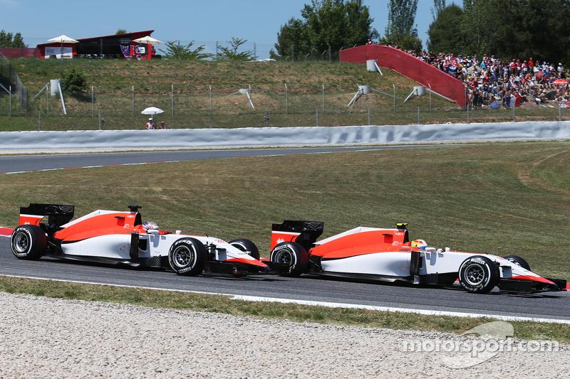Роберто Мери и Уилл Стивенс, Гран При Испании