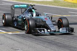 Winnaar: Nico Rosberg, Mercedes AMG F1 W06