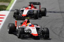 Roberto Merhi, Manor F1 Team lidera a Will Stevens, Manor F1 Team