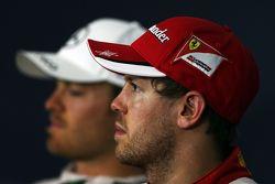 Себастьян Феттель, Ferrari на пресс-конференции FIA