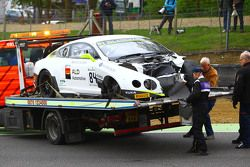 #84 Bentley Team HTP, Bentley Continental GT3: Mike Parisy, Harold Primat, Vincent Abril nach einem