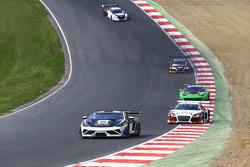 #88 Reiter Ingenieuring, Lamborghini Gallardo LP560-4 R-EX: Albert von Thurn und Taxis, Nicky Catsbu