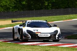 #54 Attempto Racing McLaren 650S GT3 : Philipp Wlazik, Fabien Thuner