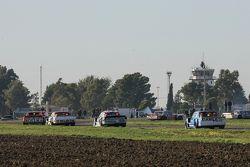 Nicolas Bonelli, Bonelli福特车队;Juan Martin Trucco, JMT道奇车队;Martin Ponte, RUS Nero53道奇车队;和Federico Alon