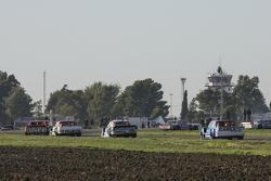 Nicolas Bonelli, Bonelli Competicion Ford; Juan Martin Trucco, JMT Motorsport Dodge; Martin Ponte, R