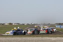 Mauricio Lambiris, Coiro Dole Racing Torino; Mariano Altuna, Altuna Competicion Chevrolet e Jose Man