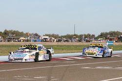 Martin Serrano, Coiro Dole Racing, Dodge, und Mauricio Lambiris, Coiro Dole Racing, Torino