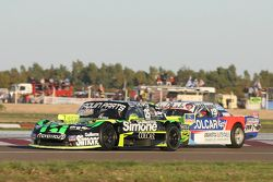 Mauro Giallombardo, Maquin Parts Racing Ford en Matias Rodriguez, UR Racing Dodge