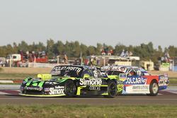 Mauro Giallombardo, Maquin Parts Racing Ford e Matias Rodriguez, UR Racing Dodge