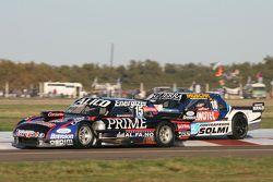 Emanuel Moriatis, Alifraco Sport, Ford, und Luis Jose di Palma, Indecar Racing, Torino