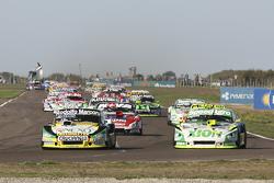 Omar Martinez, Martinez Competicion Ford; Agustin Canapino, Jet Racing Chevrolet e Matias Rossi, Don